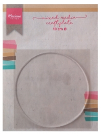 Media Mixed Crafte Plate okr±g³a 10cm