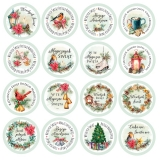 Arkusz do wycinania Die-cuts 30x30 Christmas Vibes