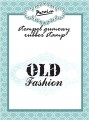 "Stempel gumowy ""old fashion"""