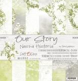 OUR STORY - ZESTAW PAPIERÓW 30,5X30,5CM