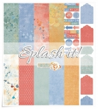 Zestaw papierów- Splash it! 30,5x30,5 cm