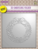 Folder do embossingu 3D EF3D07 Wreath Wianek