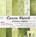 GREEN MOOD - zestaw papierów 30,5x30,5cm