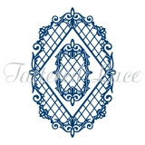 Wykrojnik Tattered Lace- Diamond Trellis Frame