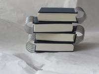 Scrapuszko- kartki kremowe, oprawa brązowa