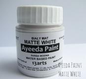Farbki matte (Ayeeda Paint)- biała 22ml
