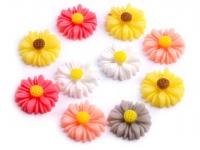 Kwiatuszek plastikowy O14mm