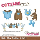 Wykrojnik Cottage Cutz Baby Boy Clothes