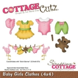 Wykrojnik Cottage Cutz Baby Girls Clothes