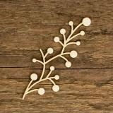 Tekturka dekor roślinny L05 (2szt)