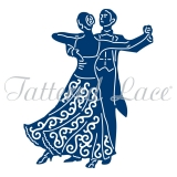 Wykrojnik Tattered Lace- Ballroom Couple