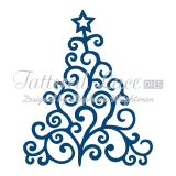 Wykrojnik Tattered Lace- Christmas Tree