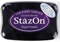 Tusz so stempli StazOn Royal purple