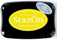 Tusz so stempli StazOn Sunflower yellow