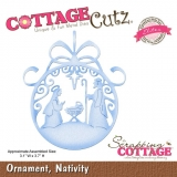 Wykrojnik Cottage Cutz Ornament, Nativity