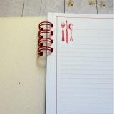 Notes- Przepiśnik- czerwony nadruk