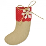 Wykrojnik- Bigz- Christmas stocking