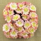 MKX-277 Kwiaty stokrotki- odcień różowo- żółty 10s