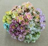 Kwiaty gardenii- 5szt. blady pomarańcz