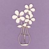 Tekturka - Kwiaty w wazonie
