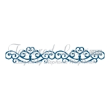 Wykrojnik Tattered Lace- Archway Border