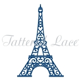 Wykrojnik Tattered Lace- Eiffel Tower