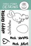 Stempel- Brush Bunny 3x4