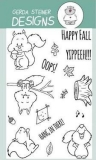 Stempel- Happy Fall with Squirrel 4x6