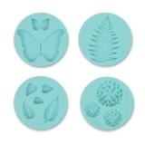 Formy silikonowe- Motye i kwiaty