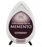 Tusz do stempli Memento Dew drops ELDERBERRY 14