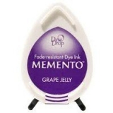 Tusz do stempli Memento Dew drops GRAPE JELLY 10