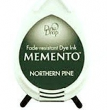 Tusz do stempli Memento Dew drops NORTHERN PINE 27