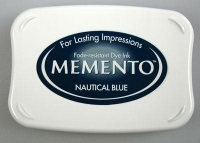 Tusz do stempli Memento Ink Pads  NAUTICAL BLUE 19