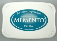 Tusz do stempli Memento Ink Pads TEAL ZEAL 17