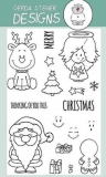 Stempel- Holiday Friends 4x6