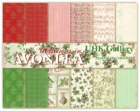 Christmas in Avonlea- zestaw papierów