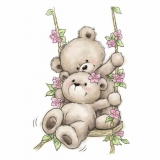 Stempel WRS Bears on Swing Misie na hu¶tawce