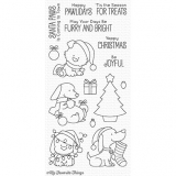 Stemple- Happy Pawlidays Clear Stamps (BB-51)