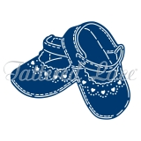 Wykrojnik Tattered Lace- Baby Shoes