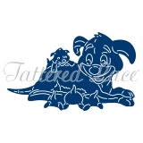 Wykrojnik Tattered Lace- Cute Dogs