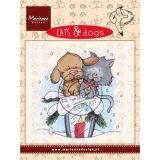 Stempel Cats & Dogs- Candle light
