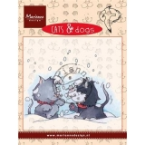 Stempel Cats & Dogs- Snow fight