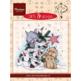 Stempel Cats & Dogs- Tree decorating