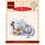 Stempel Cats & Dogs-snow fun