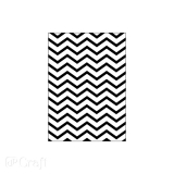 Folder do embossingu 2D - Chevron 13 cm x 18 cm