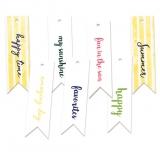 Zestaw tagów Lat's flamingle 02