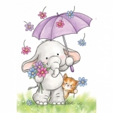 Stempel WRS Bella with Umbrella s³oñ z parasolem