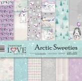 Zestaw papierów- Arctic Sweeties 30x30 cm