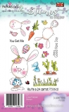 Stempel 24 CARROT FRIEND BUNNY RABBIT 17szt.