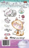 Stempel MEOW YOU DOING KITTY CAT 11szt.